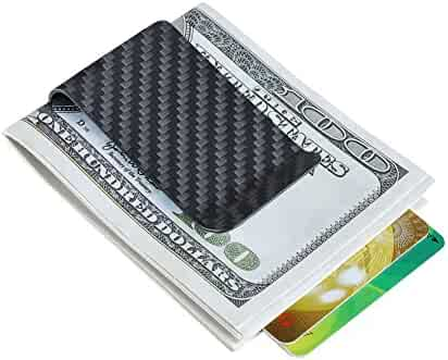 Carbon fiber wallet Money Clip Credit Card holder-CL CARBONLIFE Clips for men