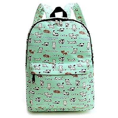 6547aad542e8 HONEYJOY Lightweight Canvas Cute Pattern Kids School Backpack for Kids  50%OFF