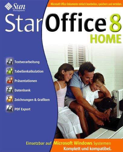 StarOffice 8 Home - Windows-Versionen: Windows 98 / ME / 2000 / XP (Star Division)