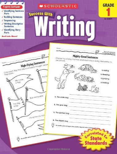 Software : Scholastic Success with Writing, Grade 1
