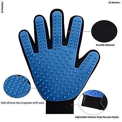 Amazon.com: Vida Pet Grooming Glove - Gentle Deshedding ...