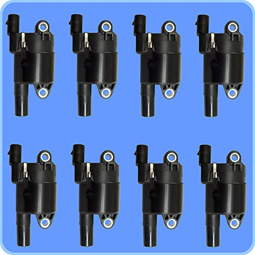 (New Herko Ignition Coil B059 Set of 8)