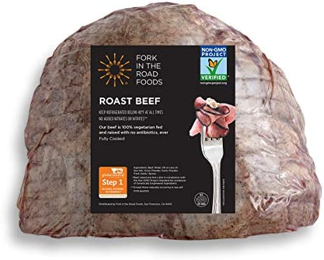 Fork In The Road Foods, Non-GMO Roast Beef
