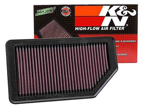 K&N 33-2472 High Performance Replacement Air Filter