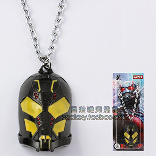 usongs Europe and surrounding Ant-Man movie - Hornet fighter mask necklace pendant/pendant]()