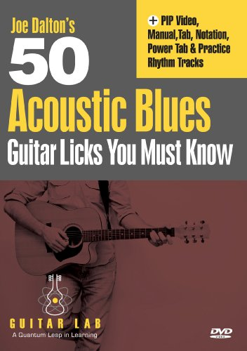 50 Acoustic Blues Guitar Licks You Must Know