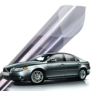 DiversityWrap Professional K-Series Car Van Solar Window Film Tint 2Ply Anti-Scratch (6m x75cm) (Medium Smoke 25%)