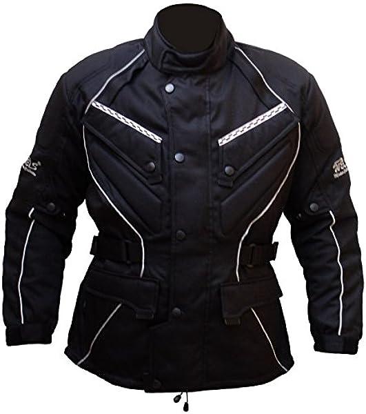 Protectwear Chaqueta de moto, chaqueta textil WCJ-101 ...