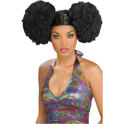 Afro Puff - Afro Puff Adult Wig
