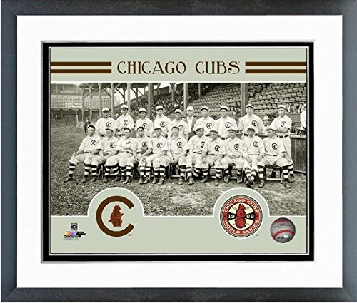 Chicago Cubs 1908 World Series Team Photo (Size: 12.5