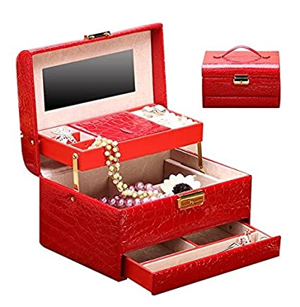 MTD princesa joyas casilla casilla joyas originales cajas Anillo caja cerradura diseño de joyas caja