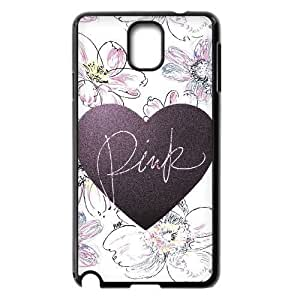 Love Pink Custom Cover Case for Samsung Galaxy Note 3 N9000,diy phone case ygtg568293 by icecream design