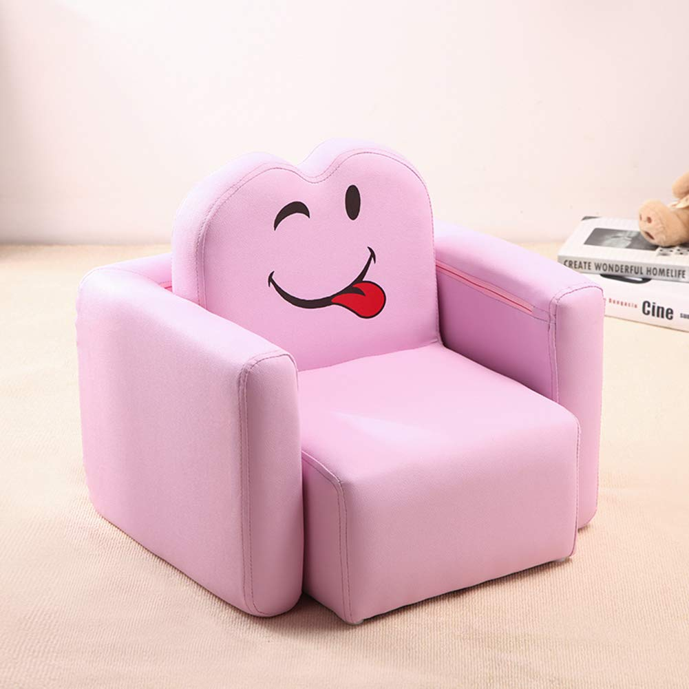 Amazon.com: Vu0026K Mini Kid Sofa,Smile Face Child Sofa Chair Cartoon Girl  Armrest Couch For Childrenu0027s Gaming Room  Pink 373218cm(14127in): Home U0026  Kitchen