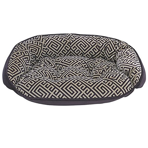 Bowsers Crescent Bed, Medium, Avalon by Bowsers