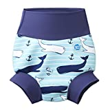 Splash About New and Improved Happy Nappy Swim Diaper (12-24 Months, Vintage Moby)