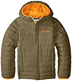 Columbia Little Boys' Toddler Powder Lite Puffer Jacket, Sage, 2T