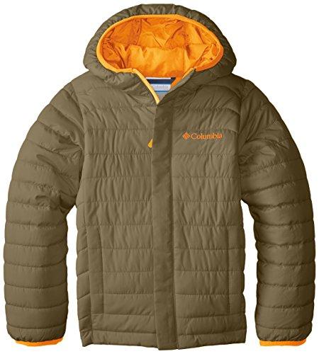 Columbia Boys' Big Powder Lite Puffer Jacket, Sage, Medium ()