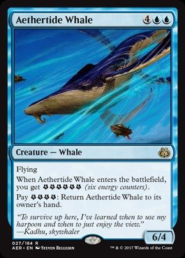 Magic: the Gathering - Aethertide Whale - Aether Revolt