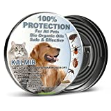 Dog Flea Treatment Collar - Flea Tick Collar Prevention Control for Dogs Cats - Natural Herbal Non-Toxic Adjustable Flea Collar Waterproof Protection for Large Medium Small Pet Supplies Repels Fleas Lice Ticks Mosquitoes