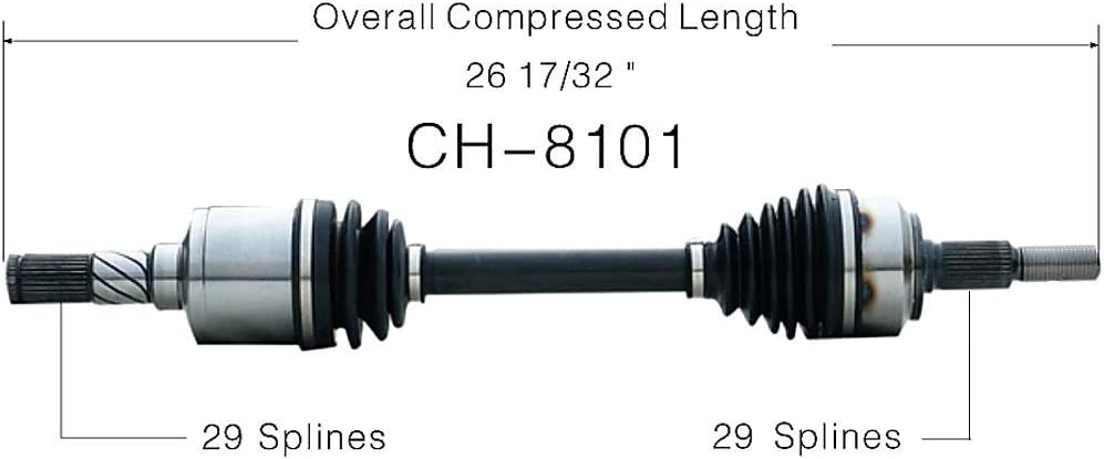SurTrack CH-8101 Axle Shaft