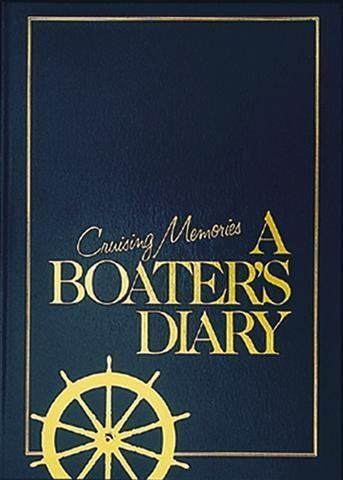 Boat Book for Captain's Log Book, Boat Log Book, Ship's Log Book, Nautical Log Book Leather Look (& Weems Log Plath)