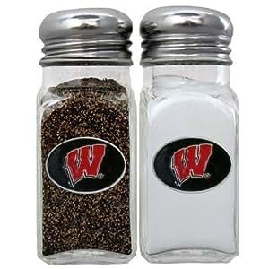 NCAA Wisconsin Badgers Salt & Pepper Shakers