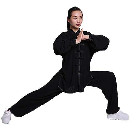 XIAOLY Traje De Kung Fu con Ropa De Tai Chi, Uniforme De Artes ...
