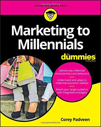51FXczsvTLL - Marketing to Millennials For Dummies