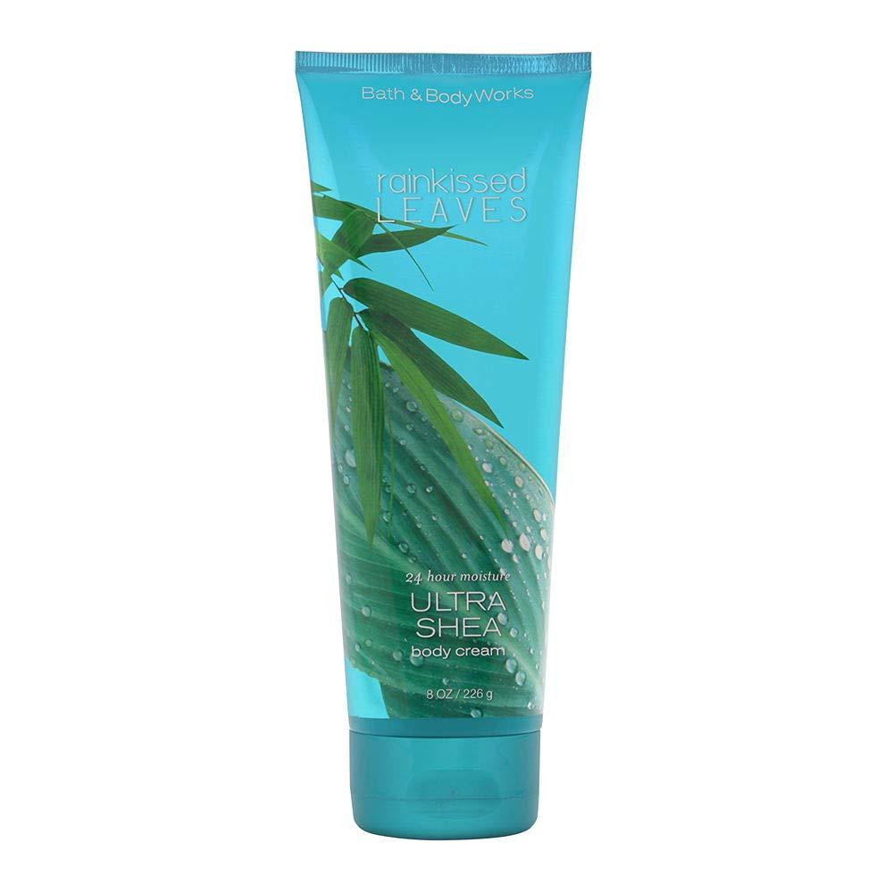Bath & Body Works Rainkissed Leaves Ultra Shea Body Cream, 8 Ounce