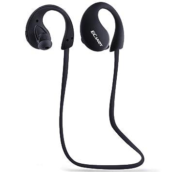 Ecandy Auriculares Bluetooth Deportes auriculares con Bluetooth inalámbricos con micrófono, Deportes, Gimnasio, Correr