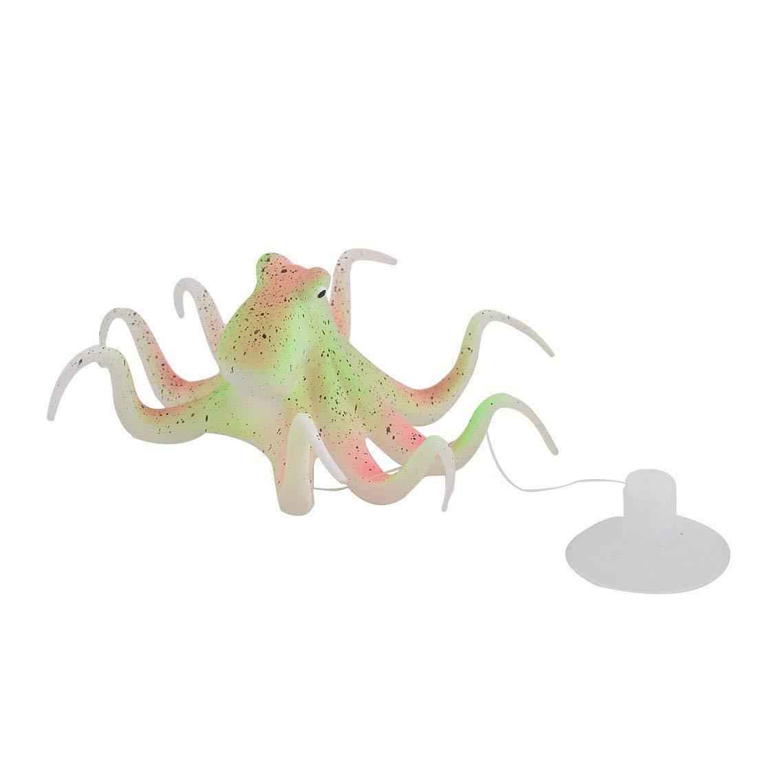 1Pc Silicone Fish Design Office Fish Tank Aquarium Floating Artificial Decor Tricolor