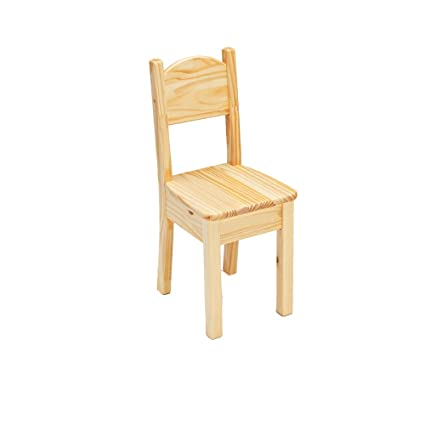 Charmant Little Colorado Open Back Chair, Unfinished