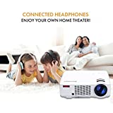 Full HD Wireless Projector,Excelvan LED Portable