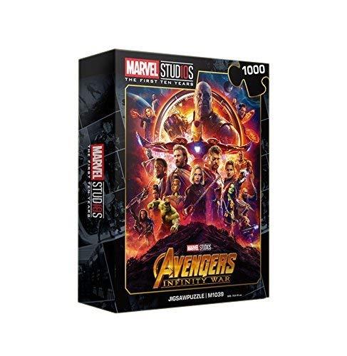 【おトク】 Avengers ジグソーパズル Marvel Studio 10周年 記念版 Avengers Jigsaw Puzzles Marvel M1039 1000ピース M1039 B07P5HTZ6P, FT IMPORT:a678c148 --- a0267596.xsph.ru