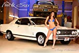 Lacey Playboy model 1968 Ford Fairlane 428 Cobra Jet Poster