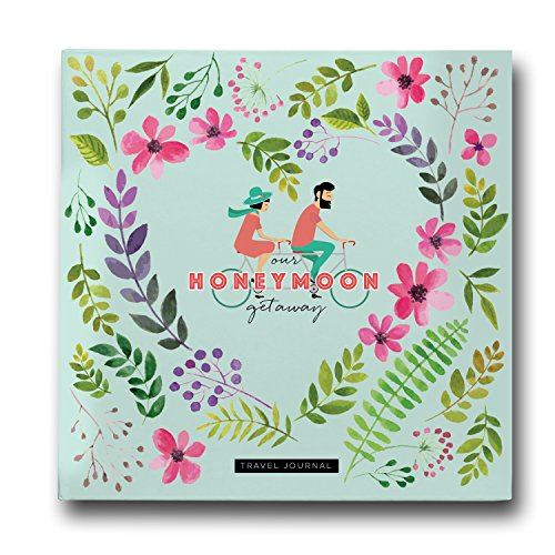 Pillow & Toast Honeymoon Travel Journal, Record-Book Trip Together, Save All Experiences On This Memory Album, A Just Married Present or Gift Like No Other for Him and Her