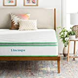 Linenspa 10 Inch Latex Hybrid Mattress - Supportive - Responsive Feel - Medium Firm - Temperature Neutral - Twin
