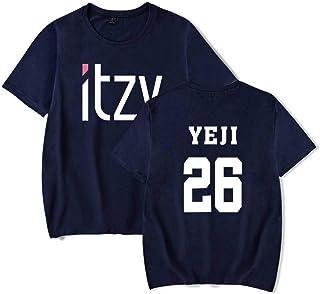 WEY T-Shirt, Itzy Stampa T-Shirt a Maniche Corte, T-Shirt Casual per Uomo e Donna