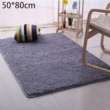 Rosepoem Plüsch Teppich Weich gefüllte Teppich Schlafzimmer ...