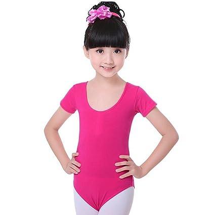 c09393c250ac Amazon.com : George Jimmy Cotton Gymnastics Leotards for Girls Leotard  Dance Costumes Dancewear Sportswear : Sports & Outdoors