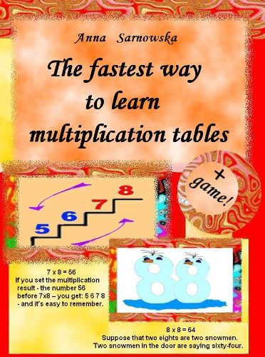 The Fastest Way To Learn Multiplication Tables Kindle Edition By