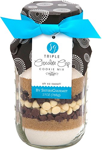 Sisters' Gourmet Triple Chocolate Chip Cookie Mix, 27 Ounce