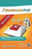 20 Staubsaugerbeutel geeignet für Philips FC 8450/01, FC8454/01, FC8452/01, FC8455/01, FC8912/01, FC8916/01, HR6988 von Staubbeutel-Profi® Made in Germany