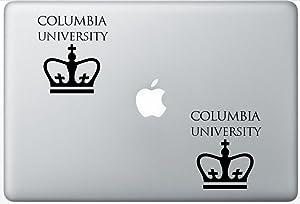 Columbia University FlashDecals0306 Set Of Two (2x) , Decal , Sticker , Laptop , Ipad , Car , Truck