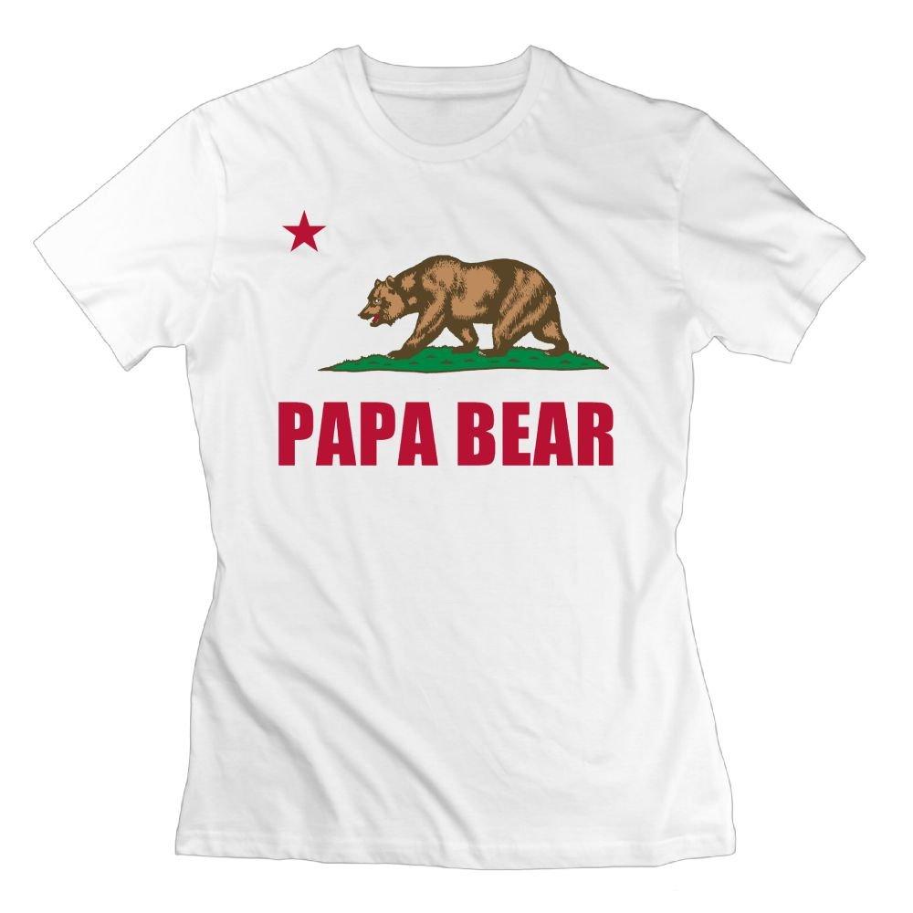 Wulion Papa Bear S Unique Short Sleeve T Shirt