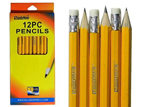 PENCIL HB 12PCS WINDOW BOX, Case of 144 by DollarItemDirect
