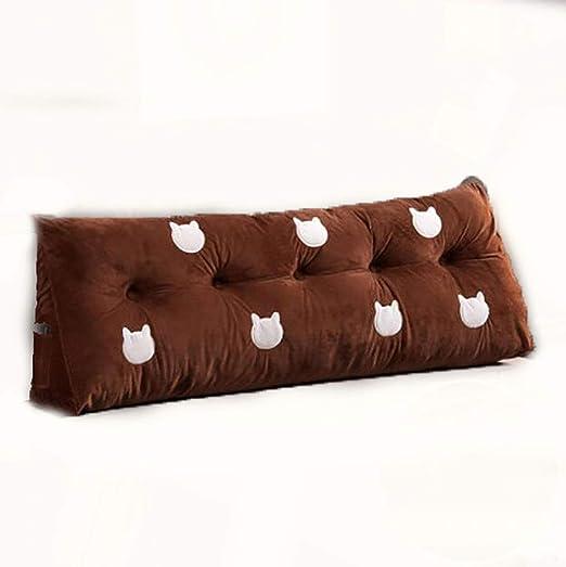 Cojines de cabecera, almohadas, cama, paquete suave, cojín ...