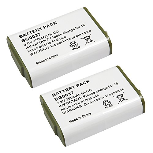 2 Pack Fenzer Cordless Phone Batteries for Vtech IA5871 8...