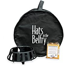 Hats in the Belfry Travel Hat Box, Magic Sponge, Hat Rest Deluxe Care Set