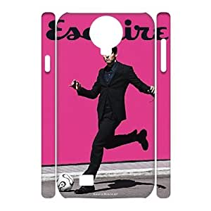 3D Kaka Football Samsung Galaxy S4 Cases, Scratch Resistant Case for Samsung Galaxy S4 Mini Yearinspace {White}